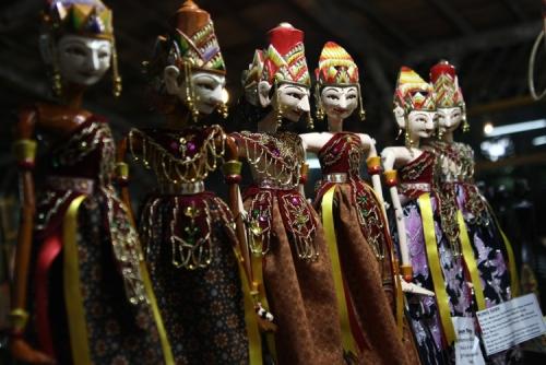 Wayang Golek (Wooden Puppet)